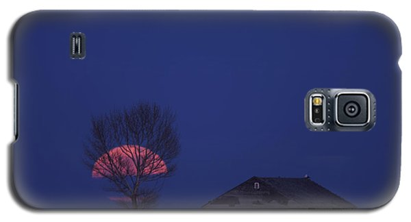 Night Shot Saskatchewan Canada Galaxy S5 Case