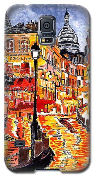 Nighttime In Paris Galaxy S5 Case