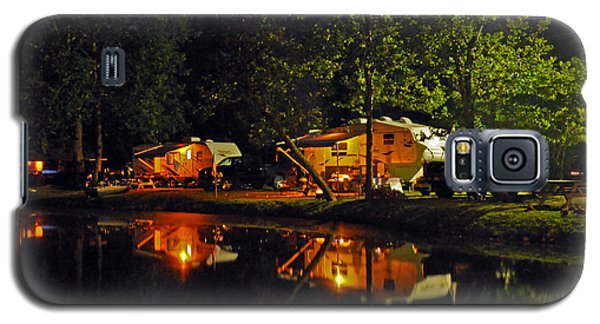 Galaxy S5 Case featuring the photograph Nighttime In The Campground by Kay Lovingood