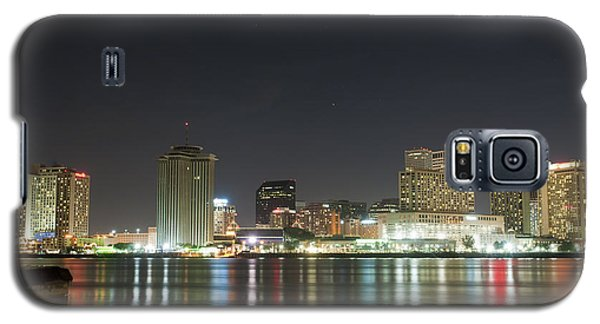 Galaxy S5 Case featuring the pyrography Nola Nights by Ray Devlin