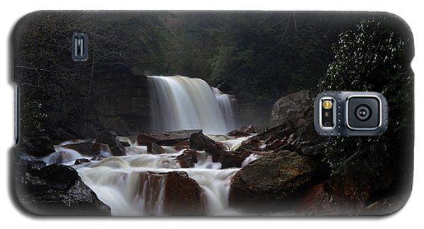 Galaxy S5 Case featuring the photograph North Forks Waterfalls by Dan Friend