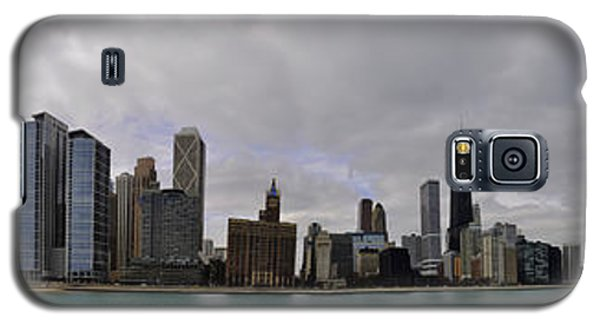 Galaxy S5 Case featuring the photograph North Of Navy Pier From The Series Chicago Skyline by Verana Stark