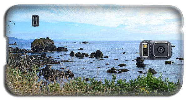 Galaxy S5 Case featuring the photograph Northern California Coast2 by Zawhaus Photography