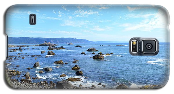 Galaxy S5 Case featuring the photograph Northern California Coast3 by Zawhaus Photography