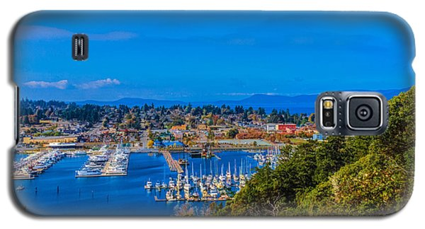 Galaxy S5 Case featuring the photograph Northwest Harbor by Ken Stanback