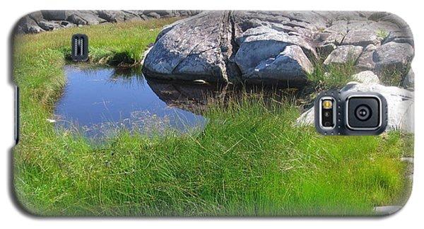 Galaxy S5 Case featuring the photograph Nova Scotia Beach by Karen Molenaar Terrell