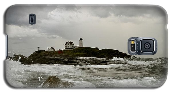 Nubble Lighthouse In The Thick Galaxy S5 Case