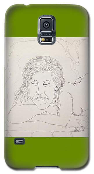 Nude Contour In Ink Galaxy S5 Case