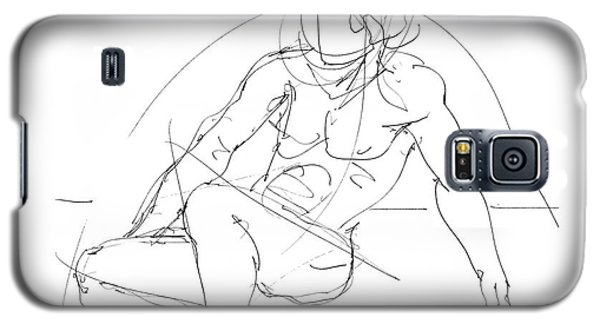 Nude-male-drawings-13 Galaxy S5 Case