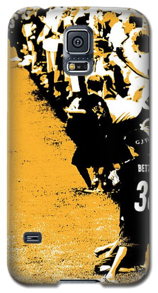 Number 1 Bettis Fan - Black And Gold Galaxy S5 Case