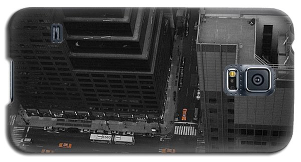 Nyc From The Top 1 Galaxy S5 Case by Naxart Studio