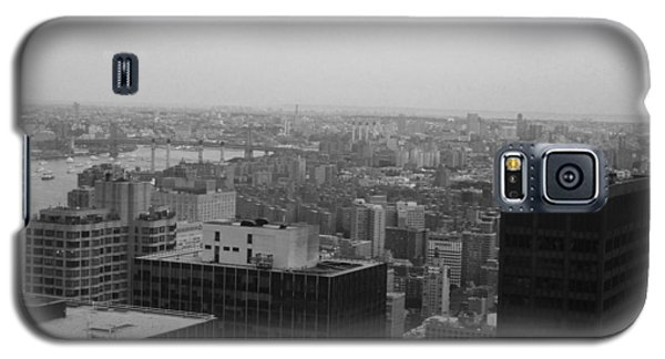 Nyc From The Top 2 Galaxy S5 Case by Naxart Studio