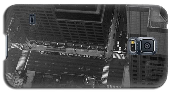 Nyc From The Top Galaxy S5 Case by Naxart Studio