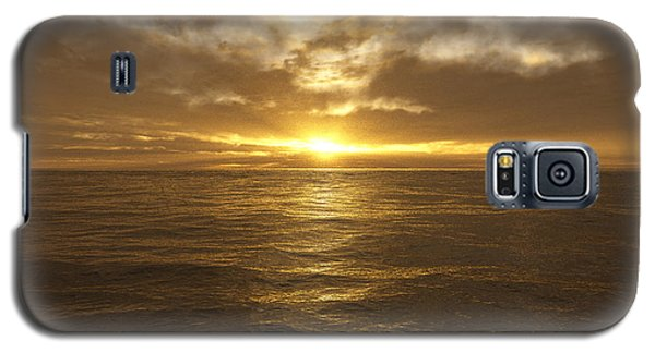 Ocean Sunset Galaxy S5 Case