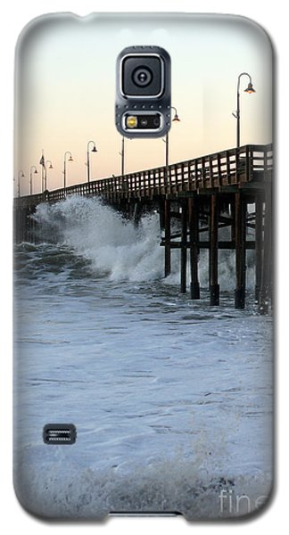 Ocean Wave Storm Pier Galaxy S5 Case