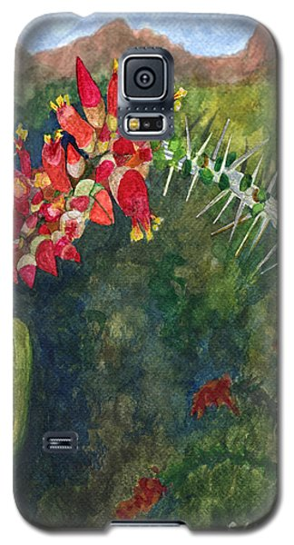 Ocotillo Spring Galaxy S5 Case
