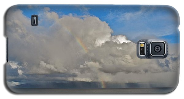 Galaxy S5 Case featuring the photograph October Rainbow In Maui by Kirsten Giving