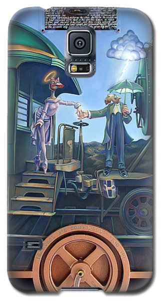 Ostrich Galaxy S5 Case - Of Thee I Sing The Body Electric by Patrick Anthony Pierson