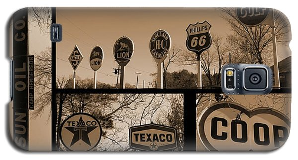 Oil Sign Retirement Galaxy S5 Case