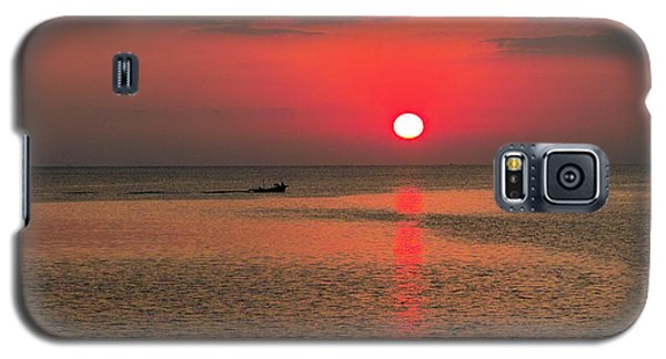 Okinawa Sunset Galaxy S5 Case by Jocelyn Kahawai