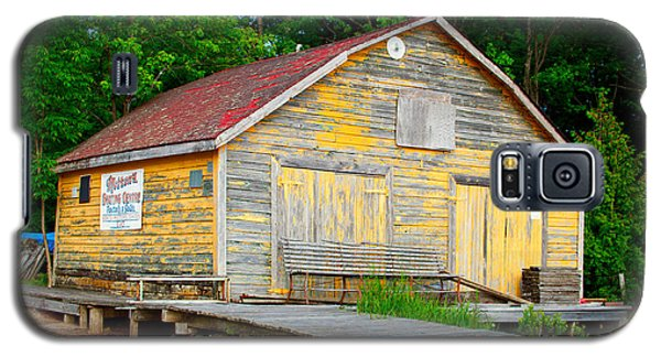 Galaxy S5 Case featuring the photograph Old Cabin by Les Palenik