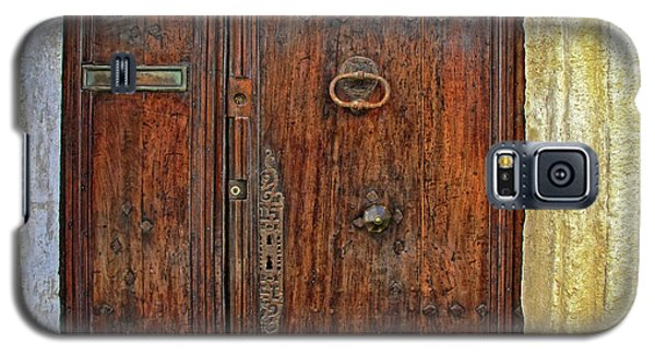 Galaxy S5 Case featuring the photograph Old Door Study Provence France by Dave Mills