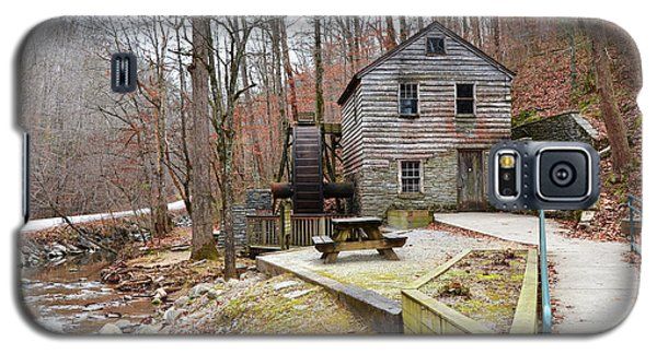 Galaxy S5 Case featuring the photograph Old Grist Mill by Paul Mashburn