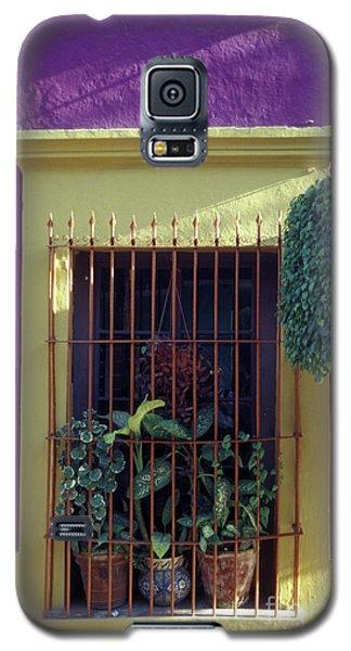 Galaxy S5 Case featuring the photograph Old Mazatlan Window by John  Mitchell