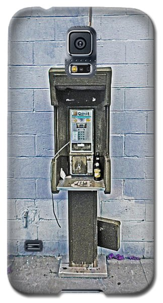 Old Pay Phone In New Orleans Galaxy S5 Case