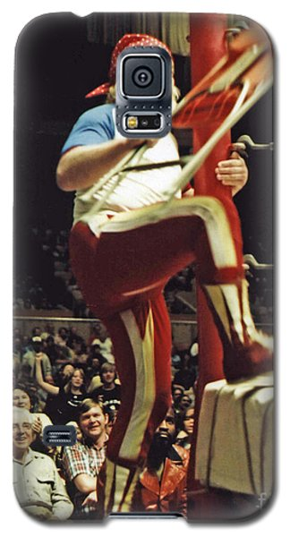 Galaxy S5 Case featuring the photograph Old School Wrestling From The Cow Palace With Moondog Mayne by Jim Fitzpatrick