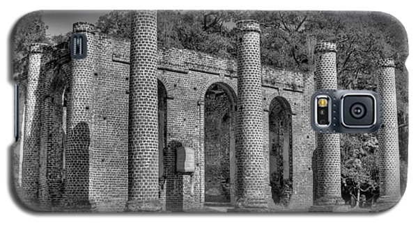 Old Sheldon Church 3 Black And White Galaxy S5 Case