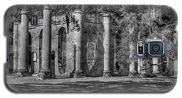 Old Sheldon Church Black And White Galaxy S5 Case