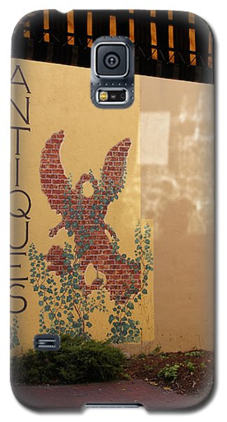 Galaxy S5 Case featuring the photograph Old Town Grants Pass Detail by Mick Anderson