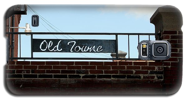 Old Towne Sign Galaxy S5 Case