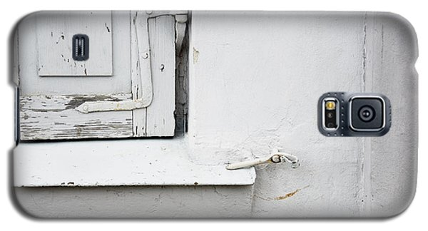 Galaxy S5 Case featuring the photograph Old Window Shutters Detail by Agnieszka Kubica