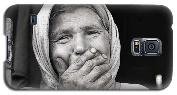Old Woman From Maramures Romania Galaxy S5 Case