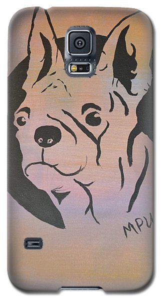Galaxy S5 Case featuring the painting Ole Fella by Maria Urso