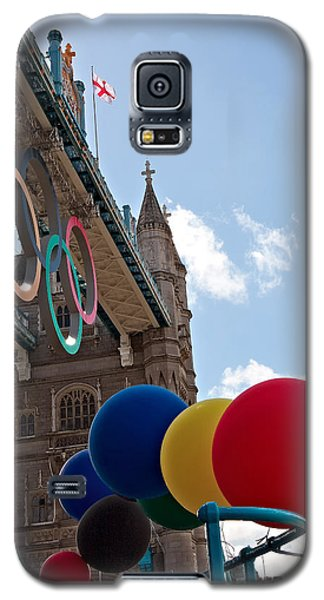 Galaxy S5 Case featuring the photograph Olympic London by Shirley Mitchell