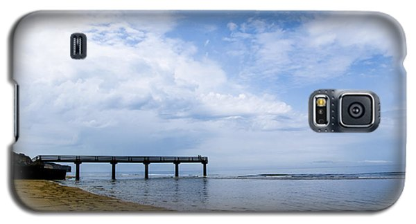 Galaxy S5 Case featuring the photograph Omaha Beach by Marta Cavazos-Hernandez