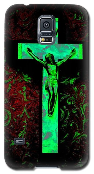 Galaxy S5 Case featuring the photograph On The Cross by David Pantuso