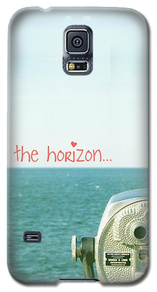 Galaxy S5 Case featuring the photograph On The Horizon by Robin Dickinson