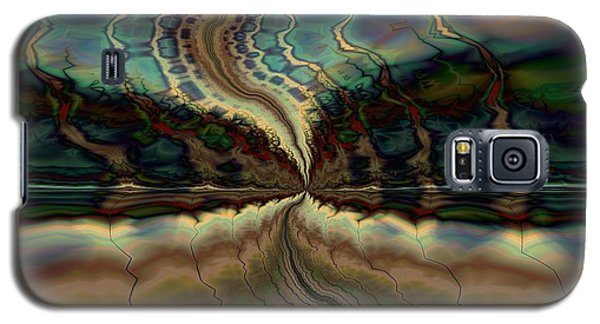 Galaxy S5 Case featuring the digital art On The Way To Somewhere by Kim Redd