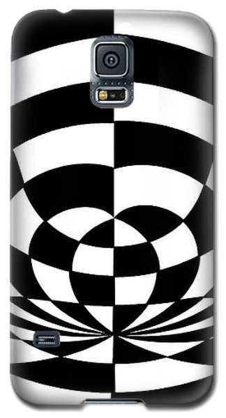 Op Art 2 Galaxy S5 Case by Methune Hively