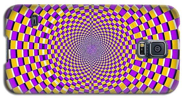 Optical Illusion Moving Cobweb Galaxy S5 Case