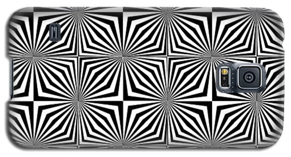 Optical Illusion Spots Or Stares Galaxy S5 Case