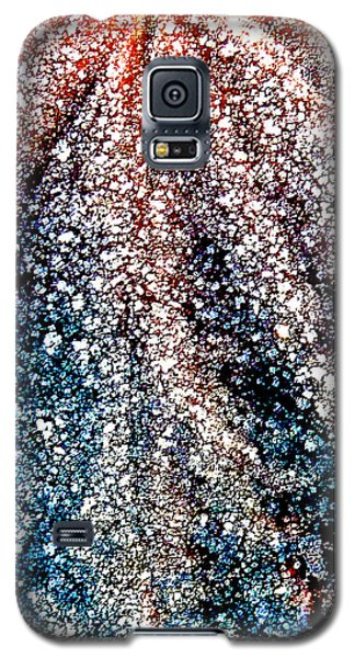 Galaxy S5 Case featuring the photograph Orange Is Warm And Blue Is Cold by Steve Taylor