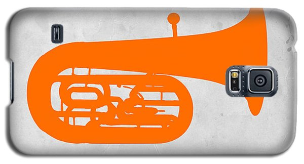 Orange Tuba Galaxy S5 Case by Naxart Studio