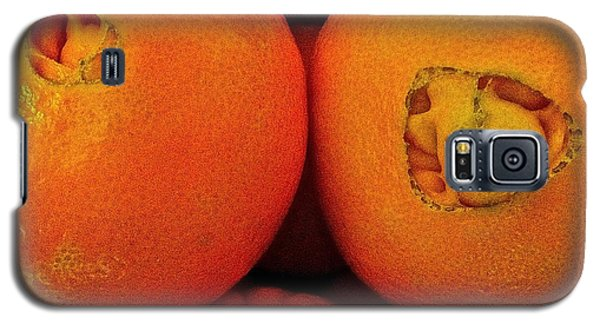 Galaxy S5 Case featuring the photograph Oranges by Bill Owen