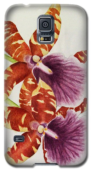 Orchids - Tiger Stripes  Galaxy S5 Case