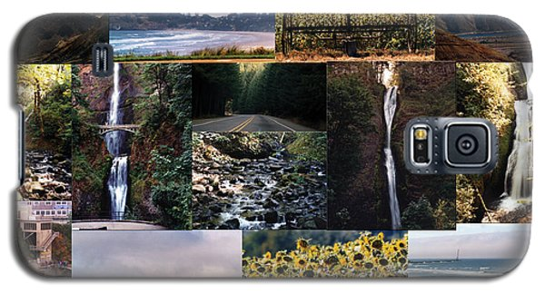 Galaxy S5 Case featuring the photograph Oregon Collage From Sept 11 Pics by Maureen E Ritter